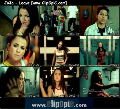 ClipOpiC.com....JoJo - Leave * Music Video
