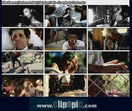 ClipOpiC.com....Various Artists ( Helping Haiti ) - Everybody Hurts